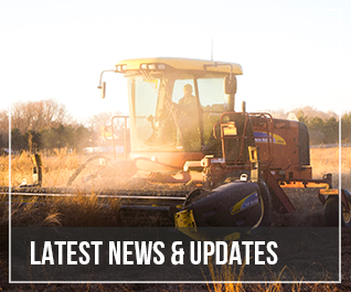 Tractor in sun - featured news
